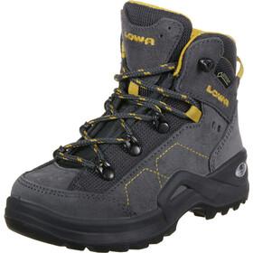 Lowa Kody III GTX Mid Shoes Kids, anthracite/yellow